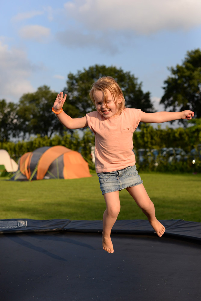 kind op trampoline
