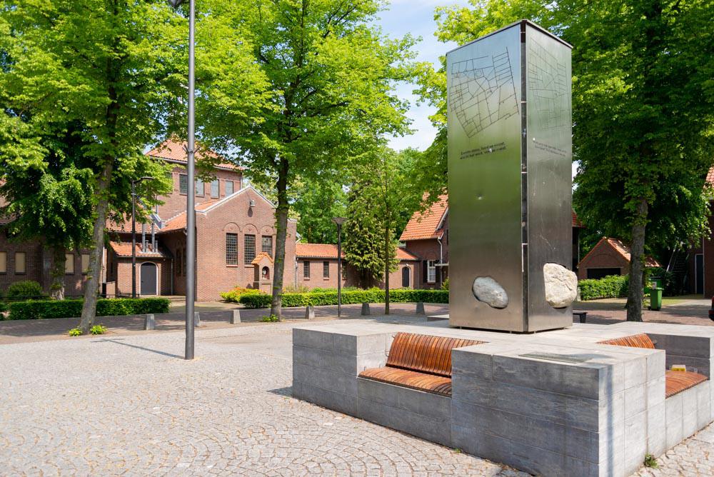 beeld en kerk in Venhorst