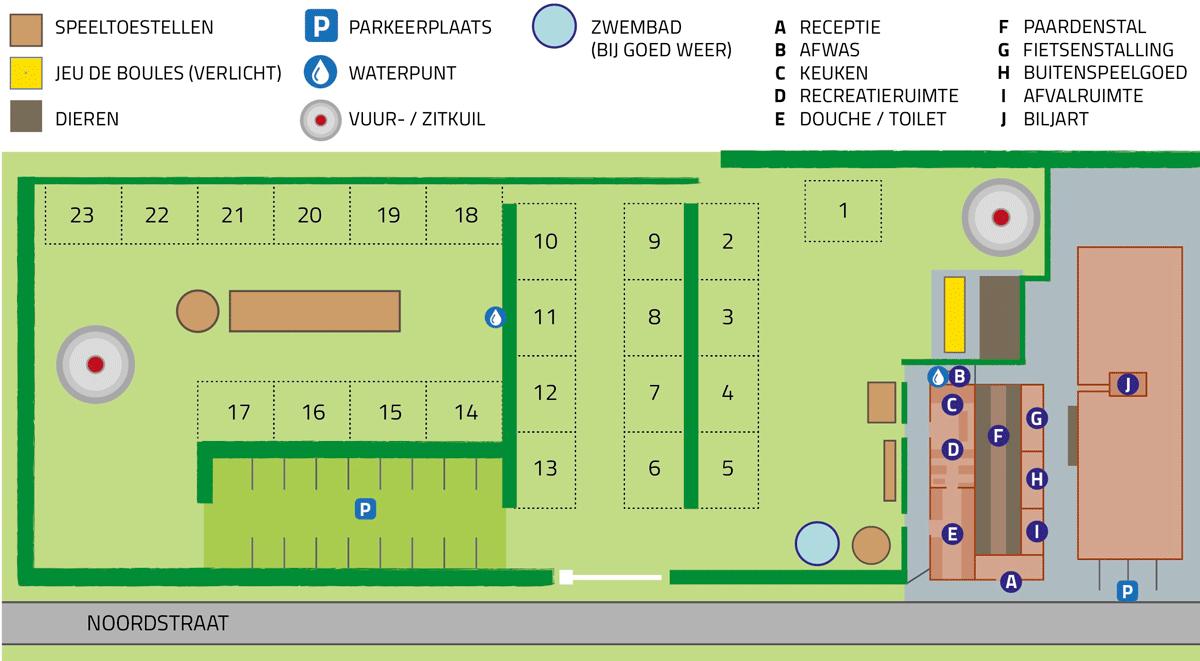 plattegrondnoordkant